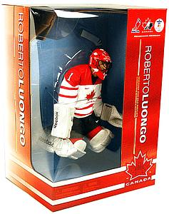 "NHL Sportspicks 12"" Series Roberto Luongo (Team Canada) White"
