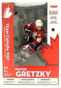 "NHL Sportspicks 12"" Series Wayne Gretzky (Team Canada) Red"