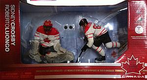 NHL Sportspicks Box Set 2-Pack Series TC Vancouver 2010 Series 2 Sidney Crosby & Roberto Luongo