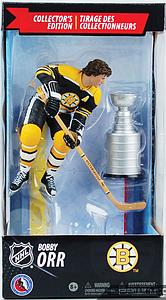 NHL Sportspicks Canadian Tire Series Bobby Orr with Stanley Cup (Boston Bruins) Black Jersey Exclusive