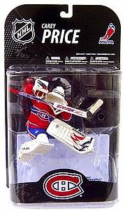 McFarlane NHL Sportspicks Series 21 Carey Price (Montreal Canadiens) Red Jersey White Mask Variant