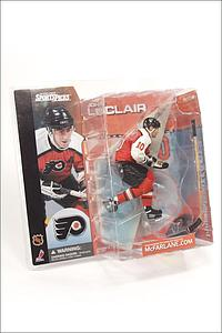 NHL Sportspicks Series 1 John LeClair (Philadelphia Flyers) Orange Jersey