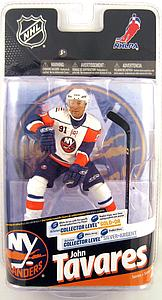 NHL Sportspicks Series 24 John Tavares (New York Islanders) White Jersey Collector Level Gold Signed