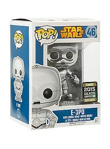 Pop! Star Wars Vinyl Bobble-Head E-3PO #46 2015 Galactic Convention  Exclusive
