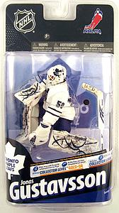 NHL Sportspicks Series 24 Jonas Gustavsson (Toronto Maple Leafs) White Jersey Collector Level Bronze