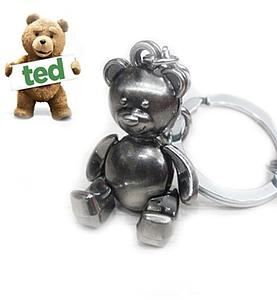 Ted Movie Keychain Posable Bear