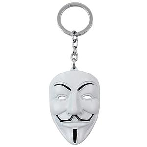 V for Vendetta Keychain Guy Fawkes Mask
