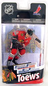 NHL Sportspicks Series 24 Jonathan Toews (Chicago Blackhawks) Red Jersey Collector Level Silver
