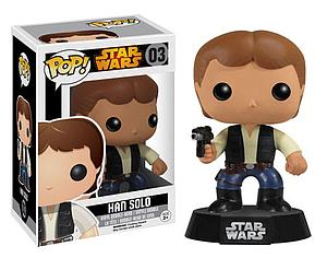 Pop! Star Wars Vinyl Bobble-Head Han Solo #03 (Vault Version)