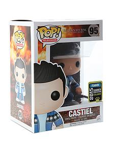 Pop! Television Supernatural Vinyl Figure Castiel #95 2015 Summer Convention Exclusive