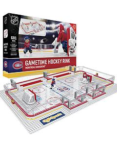 NHL Hockey Minifigures: Gametime Hockey Rink (Montreal Canadiens)