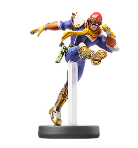 Nintendo Super Smash Bros. Amiibo Mini Figure: Captain Falcon