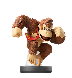 Nintendo Super Smash Bros. Amiibo Mini Figure: Donkey Kong