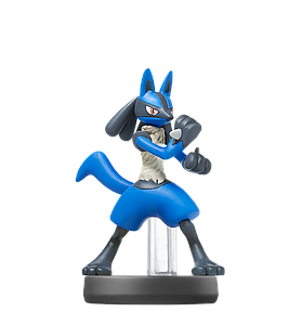 Nintendo Super Smash Bros. Amiibo Mini Figure: Lucario
