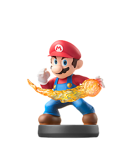 Nintendo Super Smash Bros. Amiibo Mini Figure: Mario
