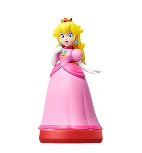 Nintendo Super Mario Amiibo Mini Figure: Peach