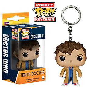 Pop! Pocket Keychain Doctor Who Vinyl Figure Tenth Doctor (Vaulted)
