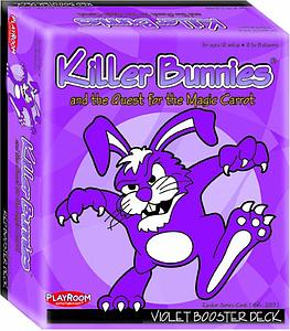 Killer Bunnies & the Quest for the Magic Carrot: Violet Booster Deck