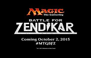 Magic the Gathering: Battle for Zendikar - Booster Case