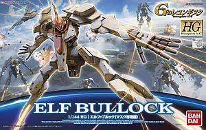 Gundam High Grade Reconguista in G 1/144 Scale Model Kit: #008 Elf Bullock (Mask Custom)