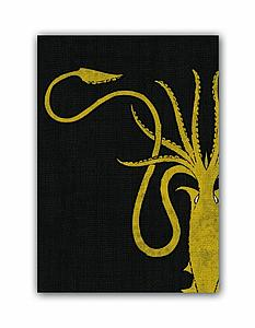 Deck Protectors Game of Thrones House Greyjoy HBO Art (Standard Size)