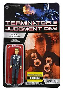 ReAction Figures Terminator Series T1000 Final Battle Entertainment Earth Exclusive