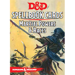 Dungeons & Dragons Martial Powers & Races