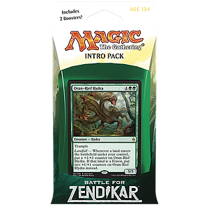 Magic the Gathering: Battle for Zendikar - Intro Deck: Zendikar's Rage