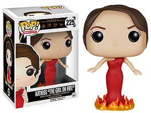 "Pop! Movies The Hunger Games Vinyl Figure Katniss ""Girl on Fire"" #225 (Vaulted)"