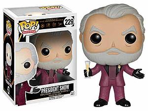 Pop! Movies The Hunger Games Vinyl Figure President Snow #229 (Vaulted)