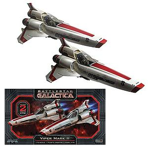 Battlestar Galactica 2004 Series Viper Mark II 2-Pack Model Kit (1:72 Scale)
