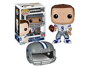 Pop! Football NFL Vinyl Figure Tony Romo (Dallas Cowboys) #40 (Retired)
