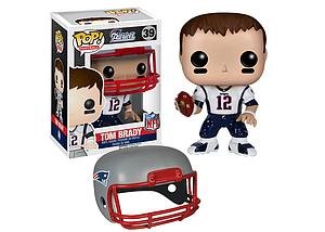 Pop! Football NFL Vinyl Figure Tom Brady (New England Patriots) #39 (Retired)