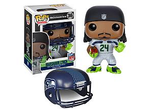 Pop! Football NFL Vinyl Figure Marshawn Lynch (Seattle Seahawks) #36 (Retired)