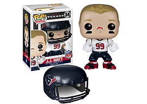 Pop! Football NFL Vinyl Figure J.J. Watt (Houston Texans) #34 (Retired)