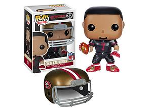 Pop! Football NFL Vinyl Figure Colin Kaepernick (San Francisco 49ers) #32 (Retired)