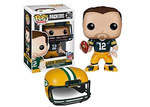 Pop! Football NFL Vinyl Figure Aaron Rodgers (Green Bay Packers) #30 (Retired)