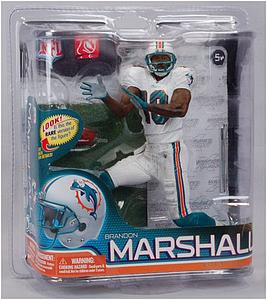 NFL Sportspicks Series 26: Brandon Marshall Bronze Collector Level (Miami Dolphins)