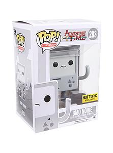 Pop! Television Adventure Time Vinyl Figure BMO Noir #283 Hot Topic Exclusive