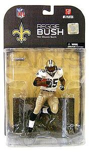 NFL Sportspicks Series 17: Reggie Bush Clean Jersey Variant (New Orleans Saints)