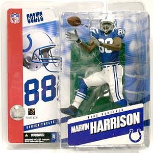 NFL Sportspicks Series 12: Marvin Harrison Blue Jersey Variant (Indianapolis Colts)