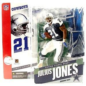 NFL Sportspicks Series 11: Julius Jones Blue Jersey Variant (Dallas Cowboys)