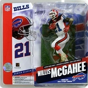 NFL Sportspicks Series 11: Willis McGahee White Jersey Variant (Buffalo Bills)