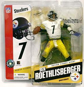 NFL Sportspicks Series 11: Ben Roethlisberger White Jersey Variant (Pittsburgh Steelers)