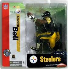 NFL Sportspicks Series 9: Kendrell Bell Black Jersey Variant (Pittsburgh Steelers)
