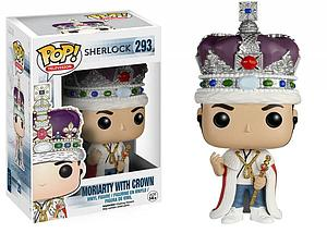 Pop! Television Sherlock Vinyl Figure Moriarty with Crown #293 (Vaulted)