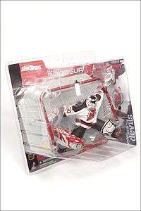 NHL Sportspicks Series 1 Martin Brodeur (New Jersey Devils) White Jersey No Logo on Bottle