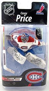 McFarlane NHL Sportspicks Series 26 Carey Price (Montreal Canadiens) White Jersey Collector Level Bronze