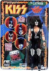 "KISS Retro 12"" Figure Series 3 Sonic Boom The Catman (Peter Criss)"