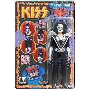 "KISS Retro 12"" Figure Series 3 Sonic Boom The Spaceman (Ace Frehley)"